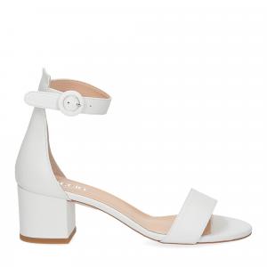 Il Laccio sandalo 669 pelle bianco-2