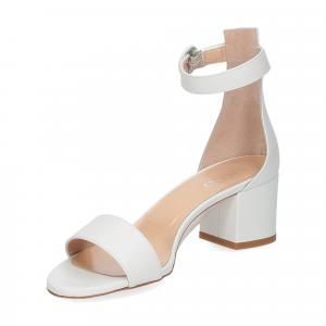 Il Laccio sandalo 669 pelle bianco-4