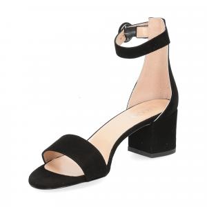 Il Laccio sandalo 669 camoscio nero-4