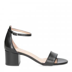 Il Laccio sandalo 684 pelle nero-2