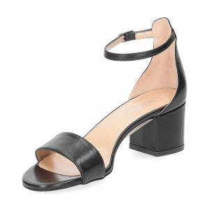 Il Laccio sandalo 684 pelle nero-4