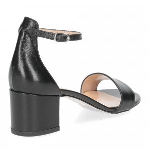 Il Laccio sandalo 684 pelle nero-5