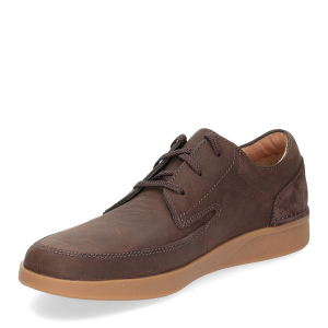Clarks Oackland Craft dark brown nubuck-4