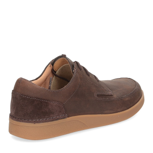 Clarks Oackland Craft dark brown nubuck-5