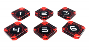 Star Wars X-Wing V 2.0 Target Lock Tokens (6)