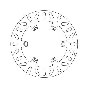 DF5216A DISCO FRENO POSTERIORE MOTOCICLI APRILIA NEWFREN
