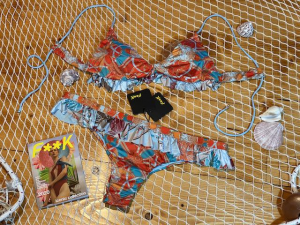 Bikini triangolo sport e slip fianco gonnellino Effek