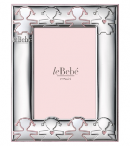 LeBebé Cornice Linea Amore - Rosa 10x15