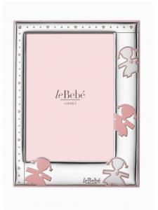LeBebé Cornice Linea Amore - Rosa, 13x18