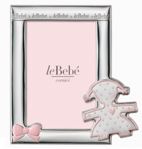 LeBebé Cornice Linea Sagome -Rosa 10x15