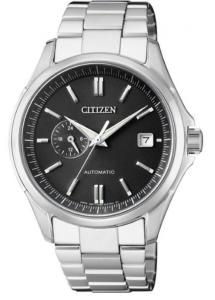 Citizen Meccanico automatico Cassa acciaio, quadrante nero