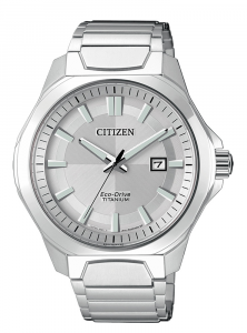 Citizen uomo supertitanio 1540 Quadrante bianco