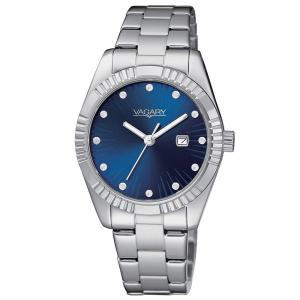 Vagary Timeless Lady, quadrante blu con cristalli