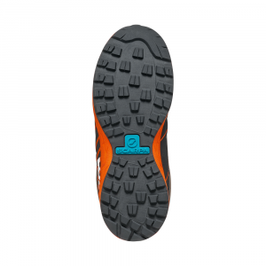 MESCALITO LACE KID   -   Hiking footwear for kids, with laces  -  Titanium-Tonic