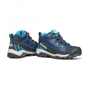NEUTRON MID KID GTX   -   Trail Running e passeggiate   -   Blue-Turquoise