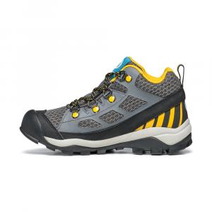 NEUTRON MID KID GTX   -   Trail Running e passeggiate   -   Dark Gray-Yellow
