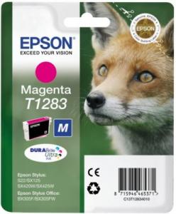Epson Fox Cartuccia di inchiostro Magenta T1283 DURABrite Ultra Ink