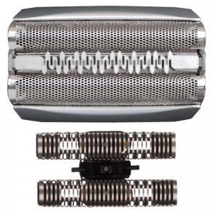 Braun Testina Di Ricambio 51S Color Argento - Compatibile Con I Rasoi Series 5
