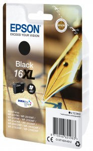 Epson Pen and crossword Cartuccia Penna e cruciverba Nero Inchiostri DURABrite Ultra 16XL