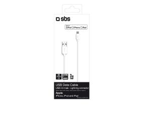 SBS 3m USB/Lightning Bianco