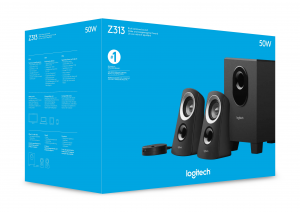 Logitech Z313 set di altoparlanti 2.1 canali 25 W Nero