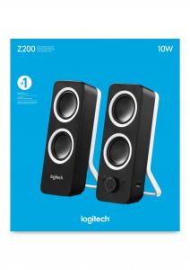 Logitech Z200 altoparlante 10 W Nero Cablato