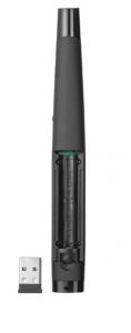 Trust 20430 puntatore wireless Nero