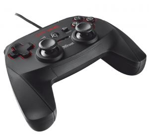 Trust GXT 540 Gamepad PC,Playstation 3 RF Nero
