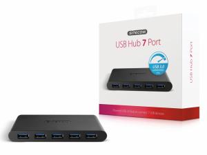 Sitecom CN-084 USB 3.0 Hub 7 Port