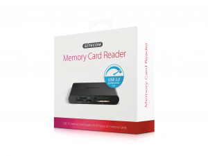 Sitecom MD-061 USB 3.0 Memory Card Reader