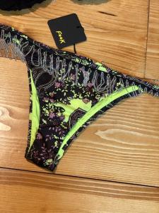 Bikini triangolo e slip laccetto brasiliano fisso Melting Pot Effek