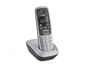 Gigaset E 560 Telefono DECT Nero, Argento Identificatore di chiamata