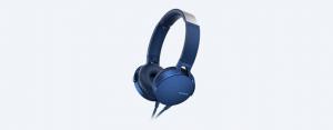 Sony MDR-XB550AP Cuffia Padiglione auricolare Blu