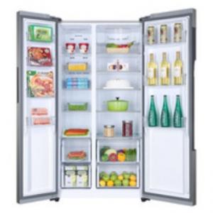 Haier HRF-522DG7 frigorifero side-by-side Libera installazione Argento 515 L A++