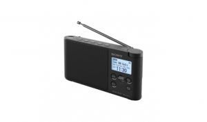 Sony XDR-S41D Portatile Digitale Nero radio