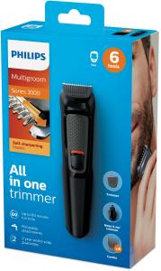 Philips MULTIGROOM Series 3000 6 accessori, Barba MG3710/15