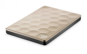 Seagate Backup Plus Ultra Slim 1TB disco rigido esterno 1000 GB Oro