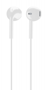 Cellularline Live - Universale Auricolare pump bass a capsula ovale Bianco