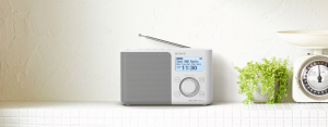 Sony XDR-S61D radio Personale Bianco