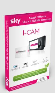 Sky I-CAM HD, Ricondizionata con Garanzia 12 mesi, Inclusa Tessera PAY TV per digitale terrestre