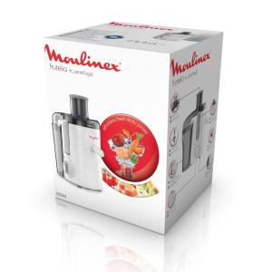 Moulinex JU3701 Frutelia + Centrifuga Bianco 350 W