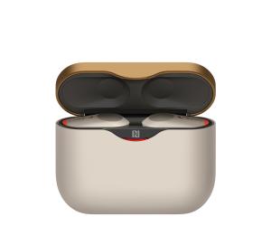 Sony WF-1000XM3, Cuffie Bluetooth Completamente Wireless con HD Noise Cancelling, Microfono per phone-call, Compatibili con Google Assistant, Alexa e Siri, iOS/Android, NFC, Batteria fino a 32 Ore (Argento)