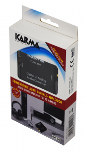 Karma Italiana CONV 3DA convertitore audio Nero