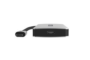 Sitecom CN-386 hub di interfaccia USB 3.2 Gen 1 (3.1 Gen 1) Type-C 10000 Mbit/s Alluminio, Nero