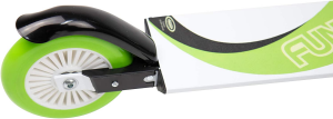 Monopattino 2 ruote funbee verde in alluminio