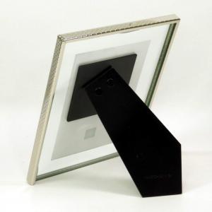Cornice vetro 10x15  bordo cromato Mascagni
