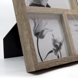 Cornice 6 fotografie effetto legno di Mascagni