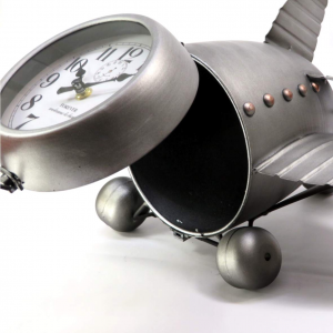 Orologio da tavolo Boeing grigio di Mascagni