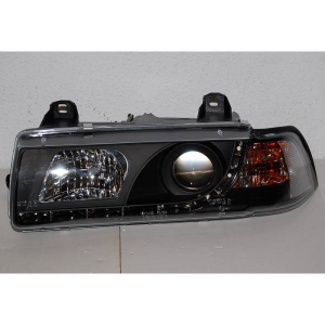 Fanali Anteriore Day Light BMW E36 '92 4P. Black
