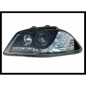 Fanali Day Light Seat Ibiza 2002-2007 Neri Modl I